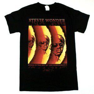 """Stevie Wonder """"Songs In The Key Of Life"""" Tee - XL"""